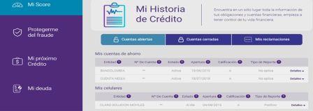 consultar historial crediticio gratis