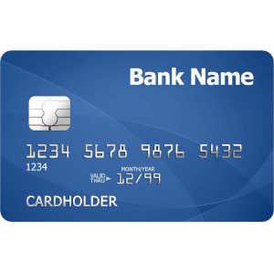 números de una tarjeta de crédito